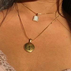 Jewelry - Virgen Mary Pearl Necklace